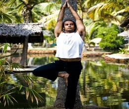 vrikshasana will boost the strength of body and fitness