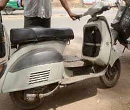 scooter that runs 80 kilometer in 20 rupees
