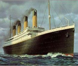 after eating titanic falls ill but get life as gift