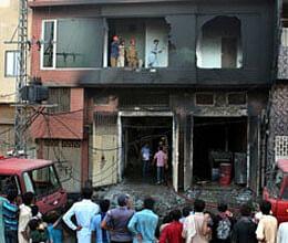 fire in factory of pakistan 314 killed