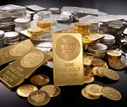 gold and silver prices rise