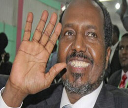 new president of somalia got study in bhopal