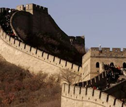 ghost on the great wall of china