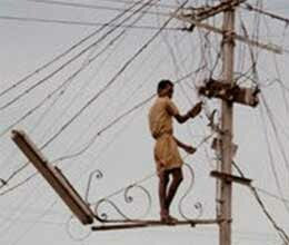 house will be painted black if you do electricity theft