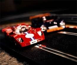 how a mystery car run on the race track