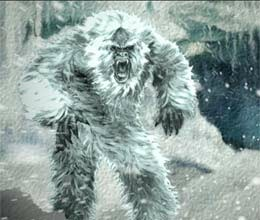 yeti live in Siberia forest
