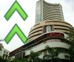 Sensex gains over 400 points; Nifty hits 5600 Points