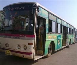 6 large cities play city bus in chhattisgarh