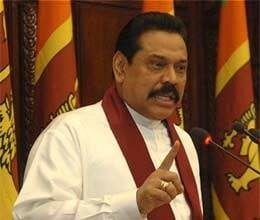 demonstration against visit of president of sri lanka
