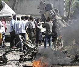 Suicide attack kills 14 in Somalia