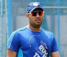 yuvraj and raina were sick did not take part in practice
