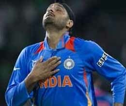 harbhajan singh returned to ground like lion