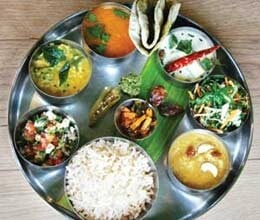 mahatma thali in UK