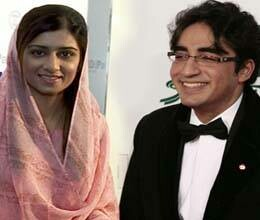 High profile romance exposed in Pakistan hina rabbani bilawal bhutto