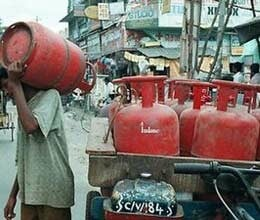 now get a gas cylinder via adhar