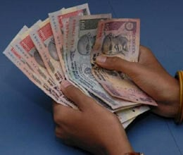 rupee down from 50 in three months