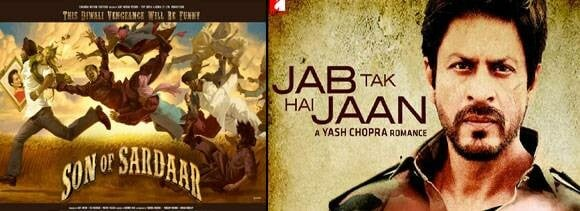 promo war between shahrukh and ajay