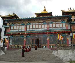 tawang monastery of arunachal pradesh faces threat of landslides