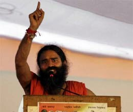 congress angry with ramdev statement at sonia gandhi