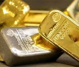 Gold ends flat silver zooms by Rs 850 on stockists buying