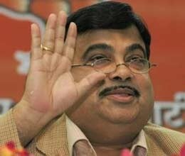 allegation on gadkari to supress irrigation scam