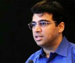 anand recorded first win