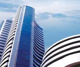 stock market gets strong sensex at 18,525