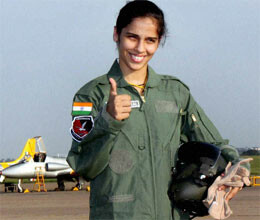 saina nehwal takes to sky in iaf aircraft