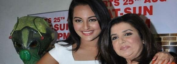 cold war started between farah khan and sonakshi sinha