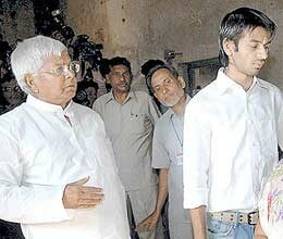 lalu son tej pratap fails in exam