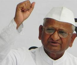 anna hazare likely to announce new team today