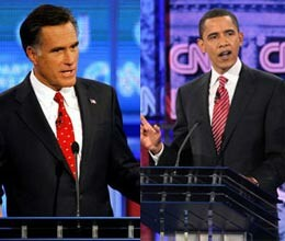 debate between obama and romney on domestic issues