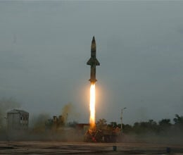 successful test of nuclear-capable prithvi -2 missile