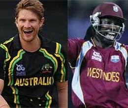 icc t20 world cup second semifinal it is gayle versus watson