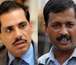 know about robert vadra and arvind kejriwal
