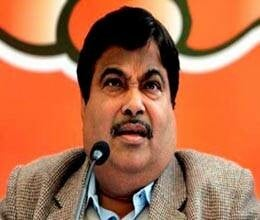 BJP came to the rescue Gadkari. rss in silent