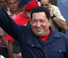 hugo chavez wins re election in venezuela