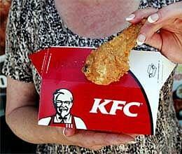 worm found in fried chicken of kfc