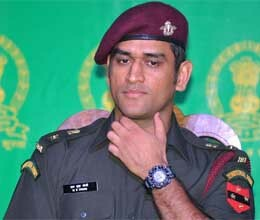 Dhoni not time for air force