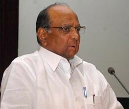 pawar says reduction in grain production due to drought