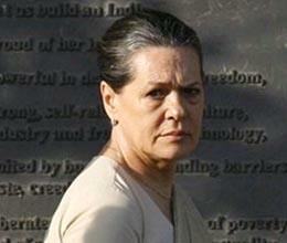 sonia gandhi meets victim family in Jind