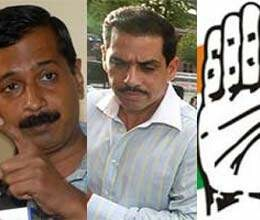 kejriwal congress and vadra who is true