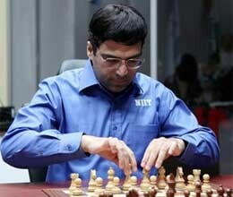 Anand Played seventh consecutive draws