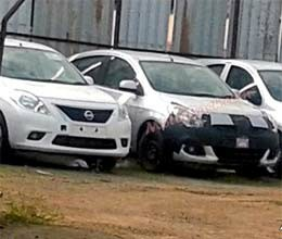 facelifted nissan micra caught on camera
