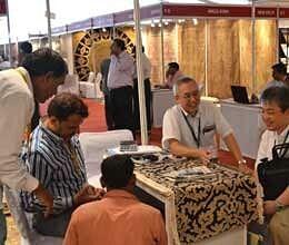 four day India Carpet Expo in Varanasi
