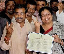 Abhijit won Jangipur Saket Bahuguna lost tehri
