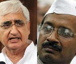 political conflict on salman Khurshid trust