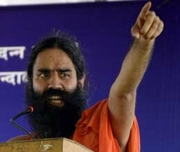 baba ramdev gave moral support to kejriwal