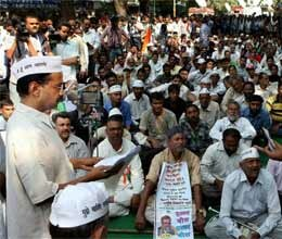 kejriwal end encompass now rally in farrukhabad