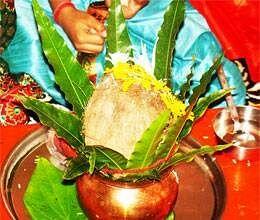 navratri 2012 auspicious muhurat of kalash sthapan
